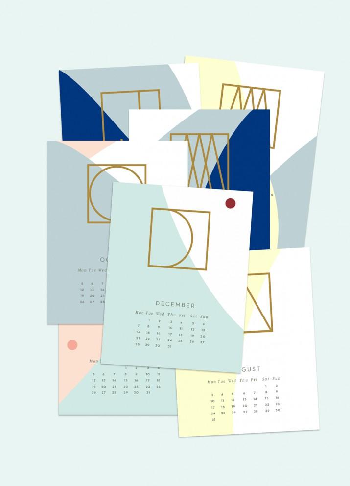 Inspiration für dein persönliches Kalender-Design 2016 (34)