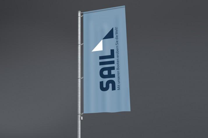 Firmenflaggen und eine eigene Fahne erstellen (Ergebnis)