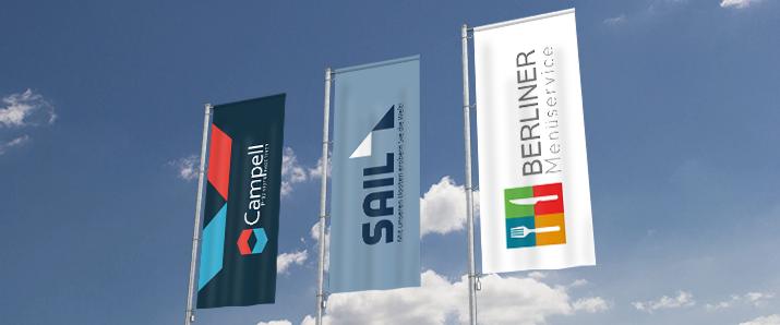 InDesign-Tutorial: Auffällige Designideen für Firmenfahnen