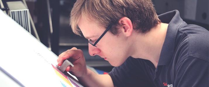 Die Ausbildung zum Medientechnologen Druck bei SAXOPRINT