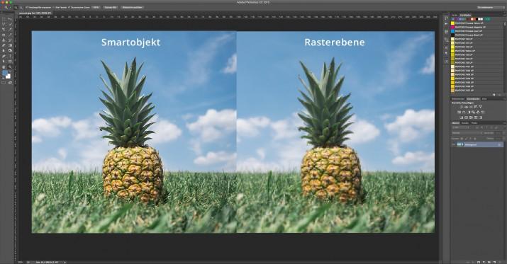 In Photoshop Smartfilter und Smart-Objekt bearbeiten (2)