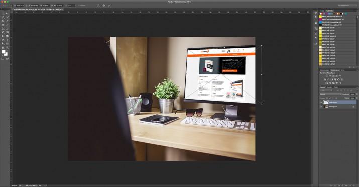 In Photoshop Smartfilter und Smart-Objekt bearbeiten (3)