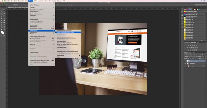 In Photoshop Smartfilter und Smart-Objekt bearbeiten (5)