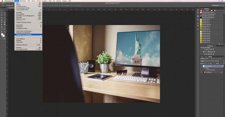 In Photoshop Smartfilter und Smart-Objekt bearbeiten (7)