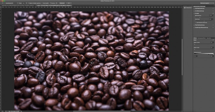 In Photoshop Smartfilter und Smart-Objekt bearbeiten (9)