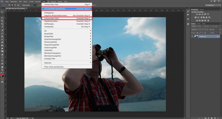 Mit Photoshop RAW Bilder und Dateien bearbeiten (4)