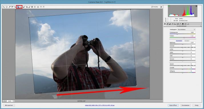 Mit Photoshop RAW Bilder und Dateien bearbeiten (6)