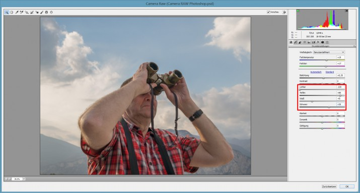 Mit Photoshop RAW Bilder und Dateien bearbeiten (9)