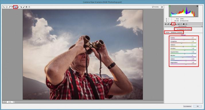 Mit Photoshop RAW Bilder und Dateien bearbeiten (13)