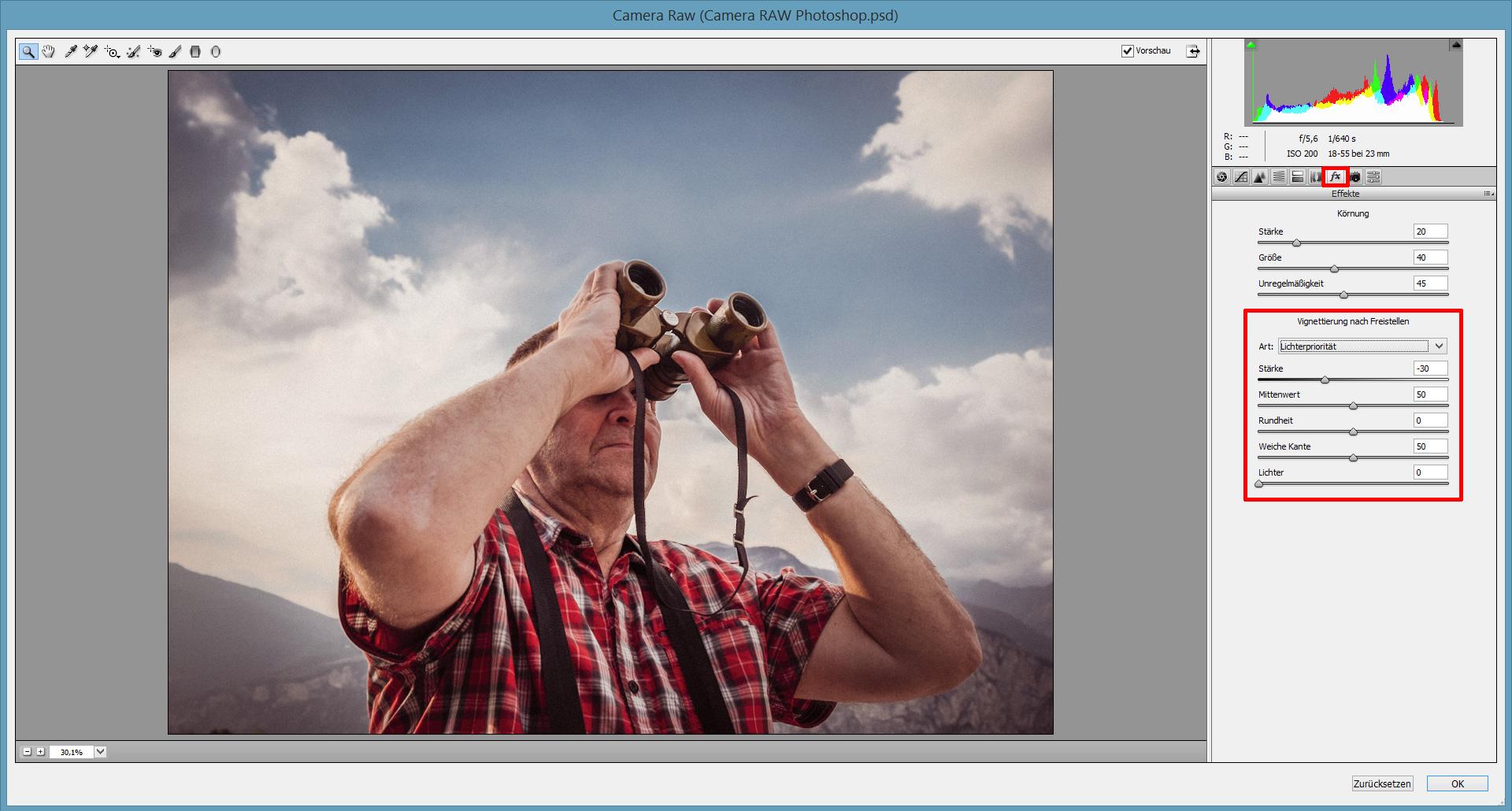 tutorial photoshop raw