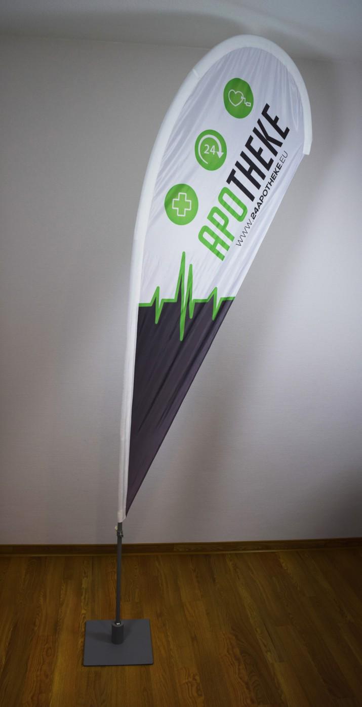 InDesign Tutorial werbewirksame Beachflag gestalten (3)