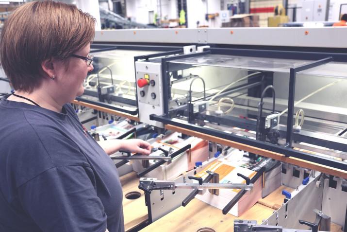 Ausbildung zum Medientechnologen Druckverarbeitung bei SAXOPRINT (5)