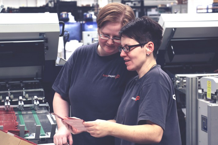 Ausbildung zum Medientechnologen Druckverarbeitung bei SAXOPRINT (11)