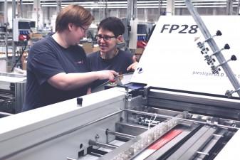 Ausbildung zum Medientechnologen Druckverarbeitung bei SAXOPRINT (12)