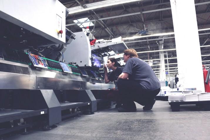 Ausbildung zum Medientechnologen Druckverarbeitung bei SAXOPRINT (14)