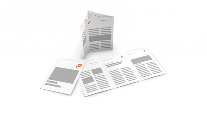 Info Flyer erstellen - Mehrbruchflyer Tutorial (1)