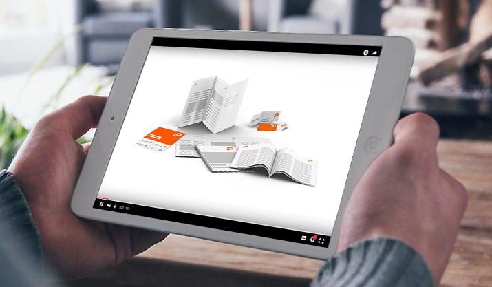 Im Bilde mit Produktinfo- und Erklärvideos von SAXOPRINT