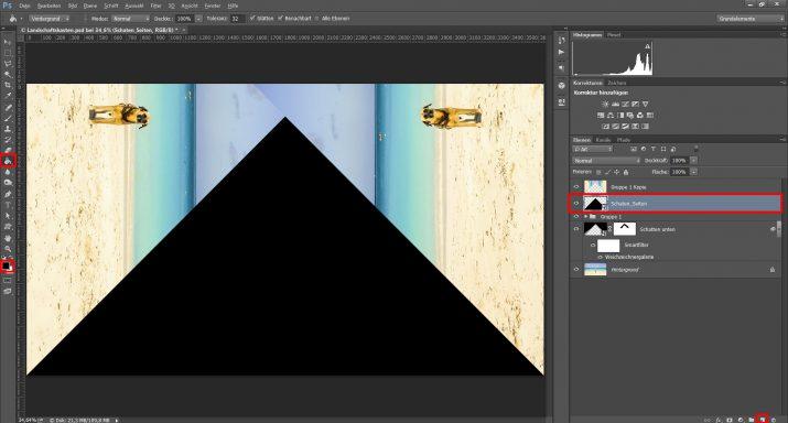 Abstrakte Landschaftsbilder für einen Landschaft Schaukasten verwenden (8)