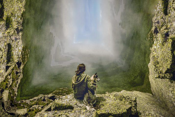 Abstrakte Landschaftsbilder für einen Landschaft Schaukasten verwenden (18)