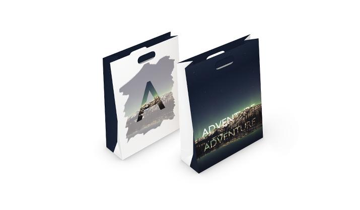 Absolut tragbar – Papiertragetaschen mit Firmenlogo