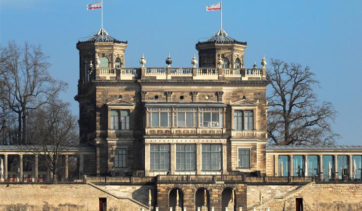 SAXOPRINT fördert das Lingnerschloss Dresden