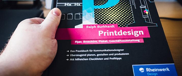 """Buchverlosung: """"Printdesign"""" von Ralph Burkhardt"""