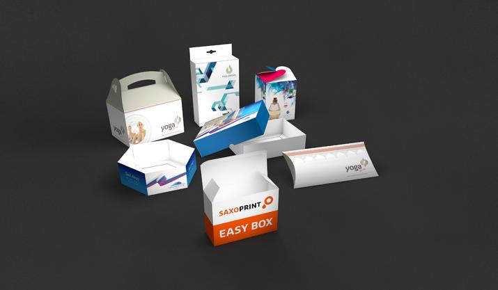 SAXOPRINT<sup>®</sup> easy box – weil Auspacken Emotionen weckt