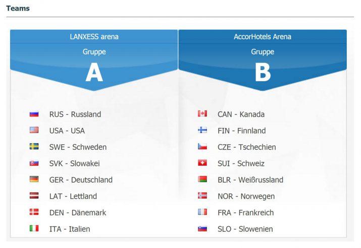 deutschland finnland eishockey