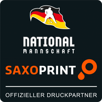 DEB SAXOPRINT Partnerlogo Eishockey-Nationalmannschaft