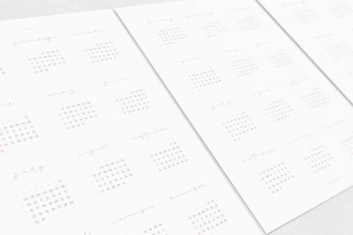 Kalender Design Inspirationen 2017 (5)