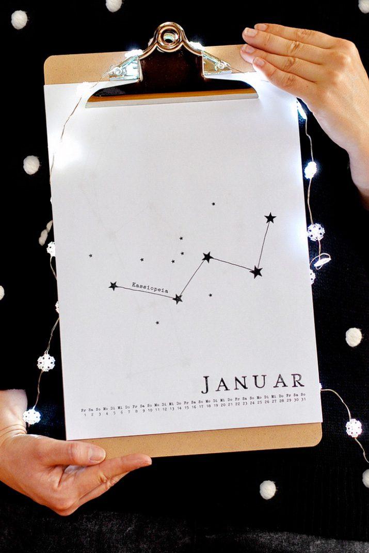 Kalender Design Inspirationen 2017 (19)