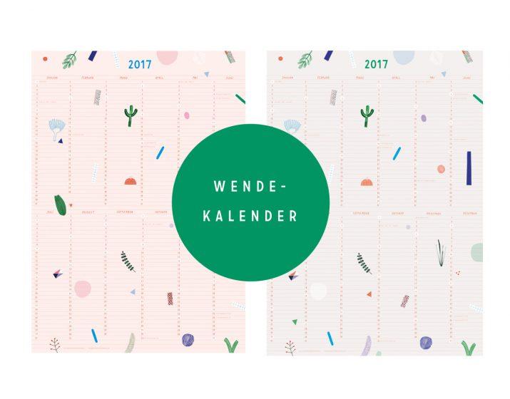 Kalender Design Inspirationen 2017 (25)