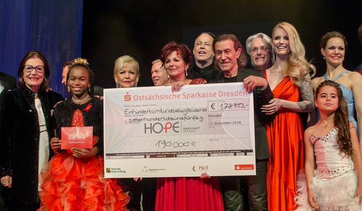 11. HOPE-Gala – SAXOPRINT schenkt Hoffnung für Südafrika