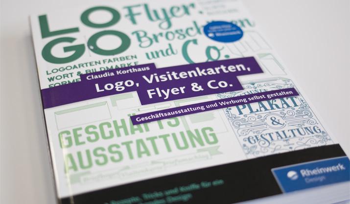 """Buchverlosung: """"Logo, Visitenkarten, Flyer & Co."""" von Claudia Korthaus"""