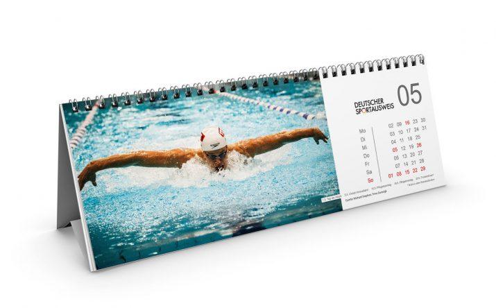 Tischkalender vom Deutschen Sportausweis