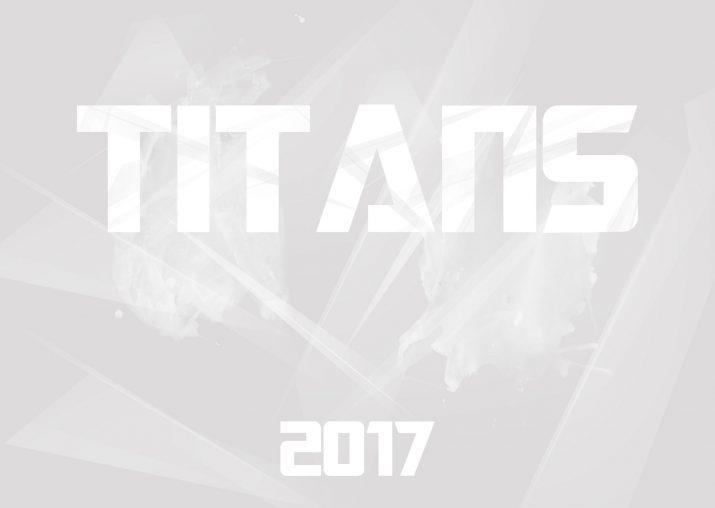 Wandkalender 2017 der Dresden Titans (Deckblatt)