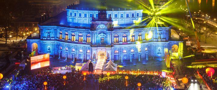 Dresden strahlte zum 12. SemperOpernball