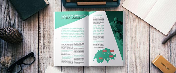Mitarbeiterzeitung im Corporate Publishing (Tipps, Beispiele, Templates)