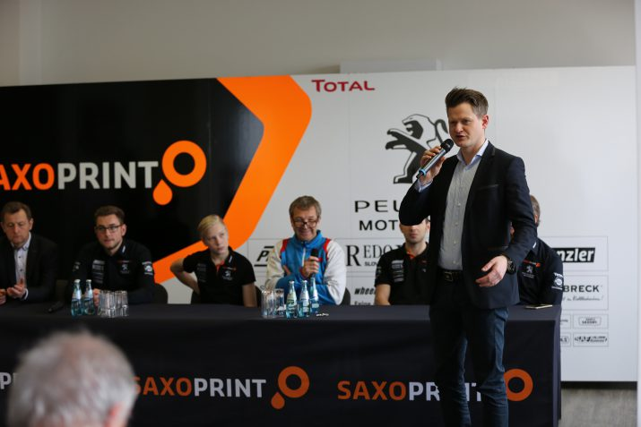 Peugeot Motocycles SAXOPRINT Team Presentation 2017 (1)