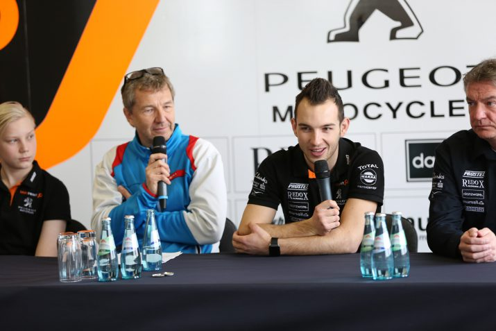 Peugeot Motocycles SAXOPRINT Team Presentation 2017 (2)