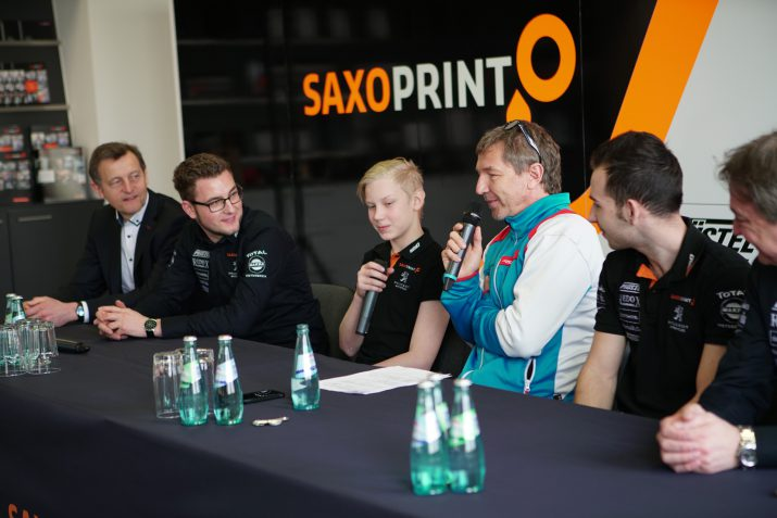 Peugeot Motocycles SAXOPRINT Team Presentation 2017 (6)