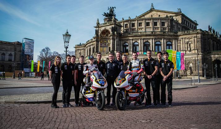 Moto3™-Team läutet Saison 2017 ein