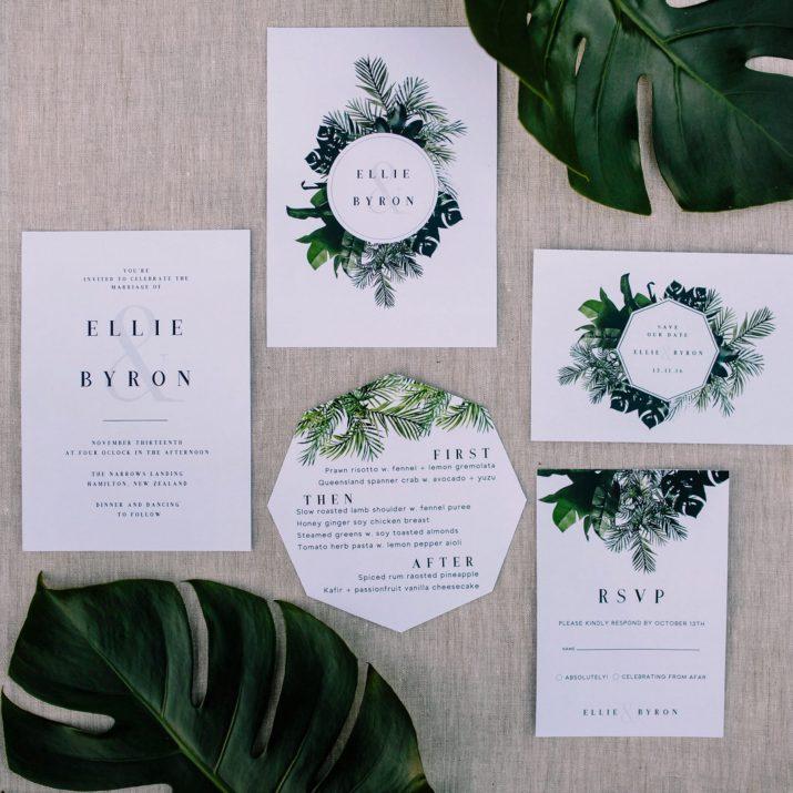 Greenery von Pantone – Die Farbe des Jahres 2017 (Wedding Stationery)