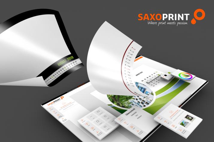 SAXOPRNT Kalender Designer