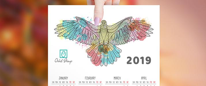 35 Design-Kalender mit denen ihr 2019 durchstarten könnt!