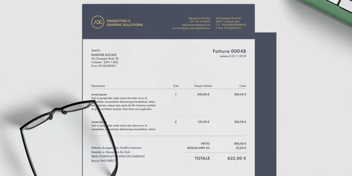 Briefpapierdesign Inspiration 2019 02 Alessandro de Giuli