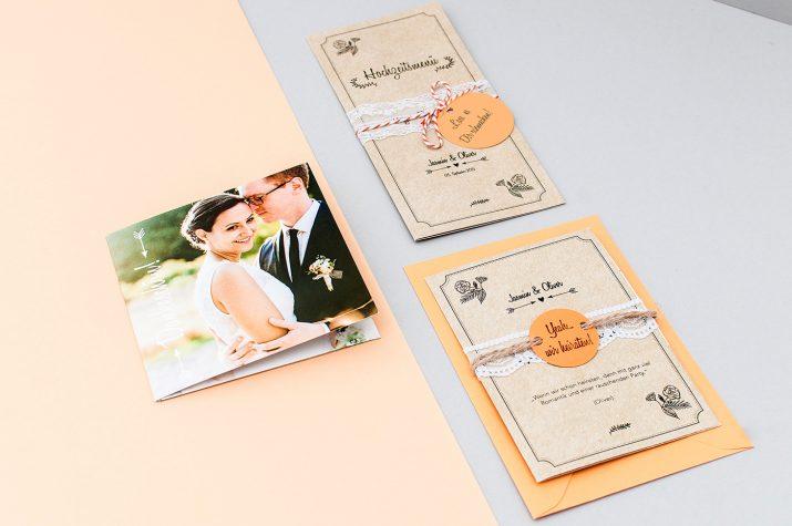 Einladungen, Danksagungen, Tischkarten und mehr für eure Hochzeit (1)