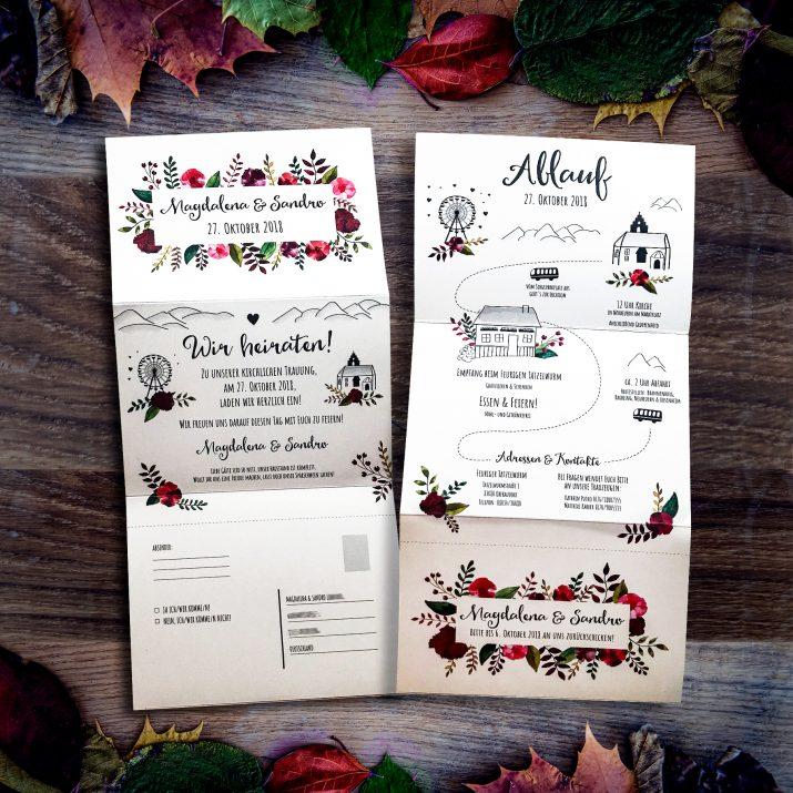 Einladungen, Danksagungen, Tischkarten und mehr für eure Hochzeit (3)