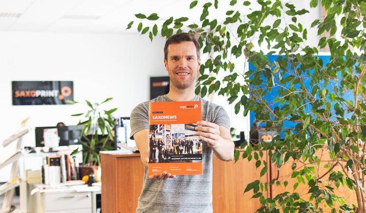 Die Mitarbeiterzeitschrift: Neuigkeiten von und für Mitarbeiter