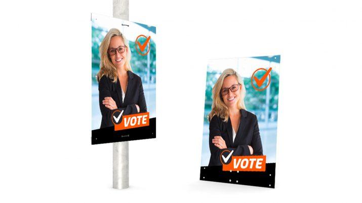 Wahlwerbung für die Kommunalwahl und die Landtagswahl gestalten (2)